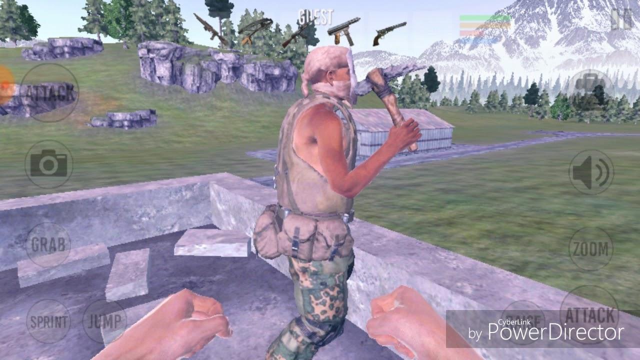 New Vast Survival Mod 7 0 white skin apk with 1 hit lag