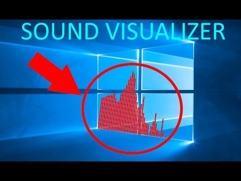 How to add a Sound/Music Visualizer to your Desktop