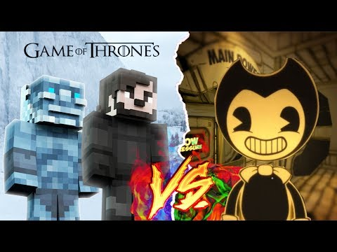 MINECRAFT | GAME OF THRONES vs BENDY - WINTER IS COMING!!