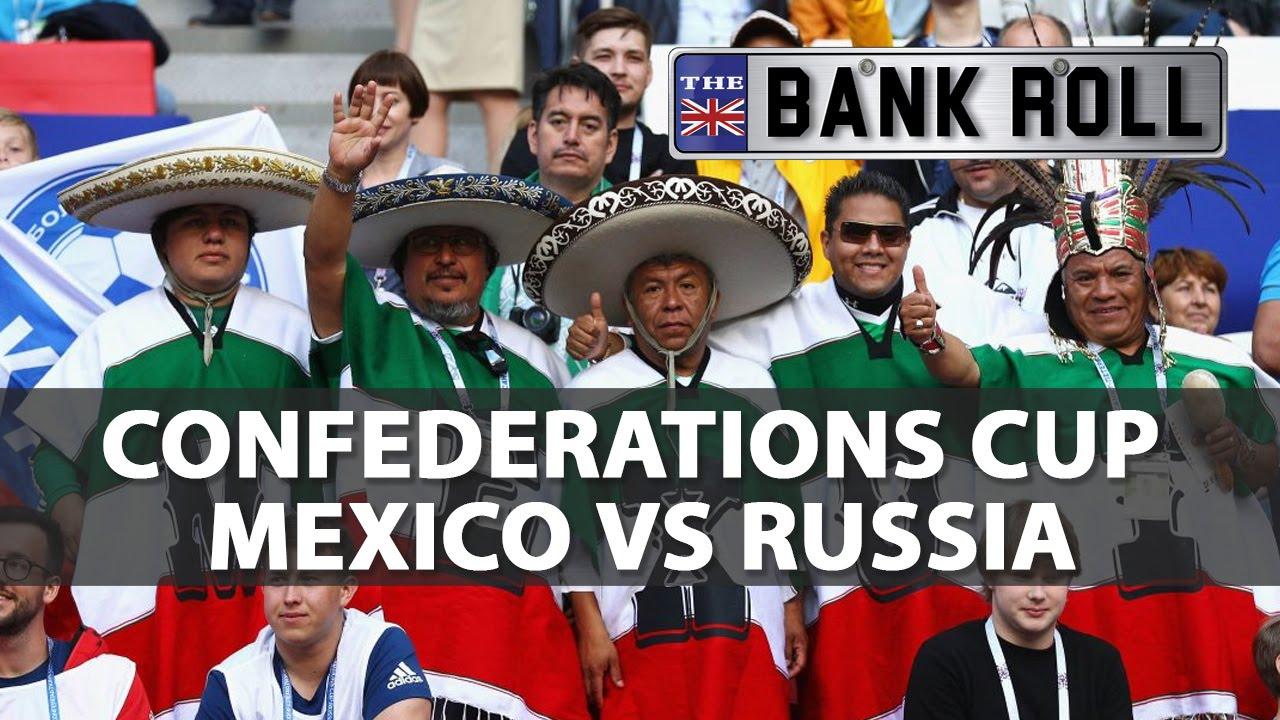 Mexico vs. Russia: Confederations Cup Odds & Prediction