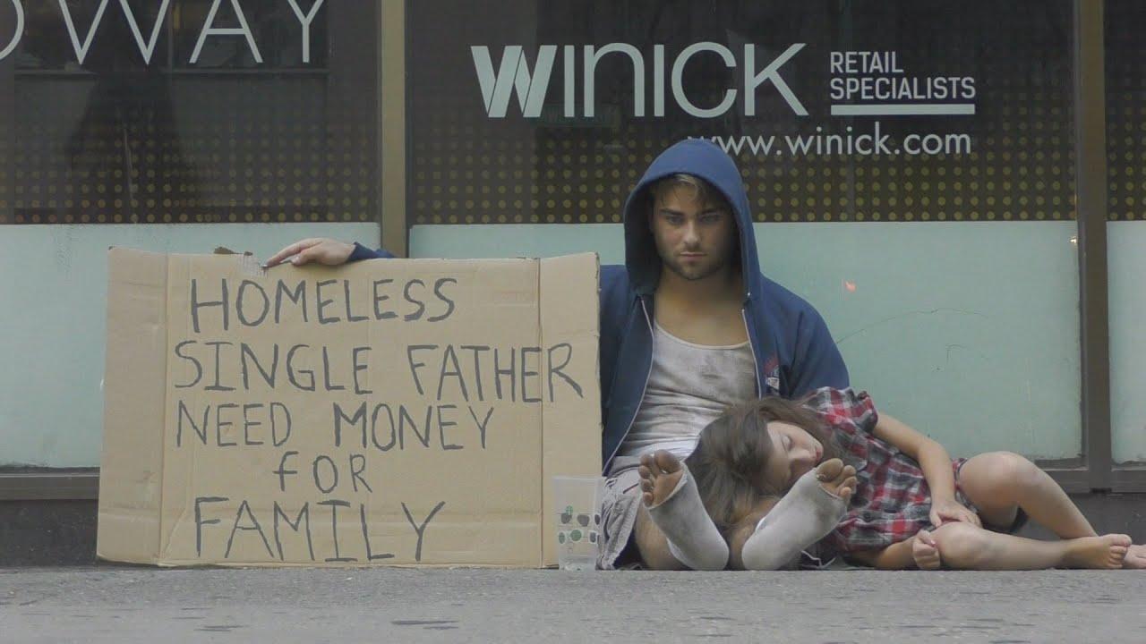 Girl Holding Money Wallpaper Homeless Drug Addict Vs Homeless Father Social Experiment
