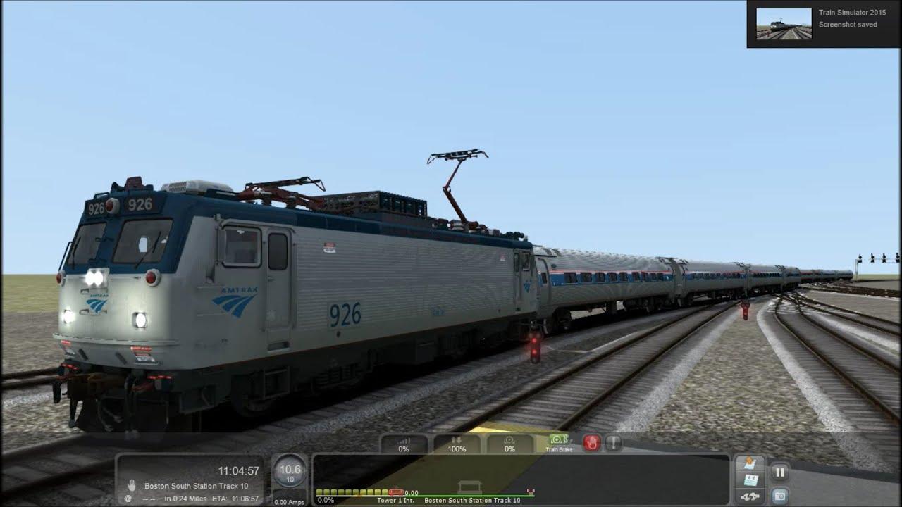 Amtrak (All AEM-7) Northeast Regional Station Stops at