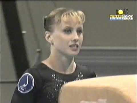 Elena Zamolodchikova. 1999 World Championships. EF. VT1