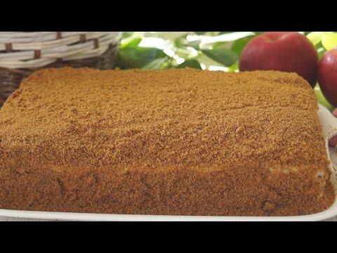 Торт Медовик  Без раскатки коржей! Нежный, Ароматный, Очень вкусный!