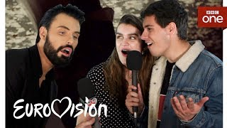 Meet the Eurovision 2018 artists with Rylan: Part One - BBC One
