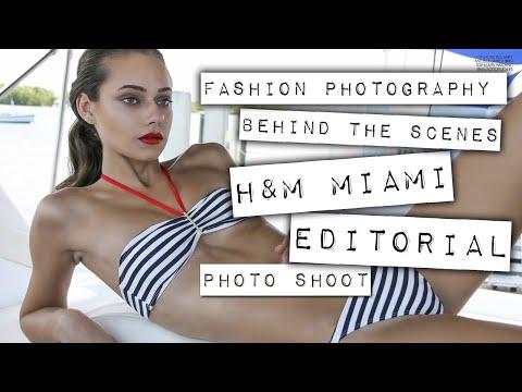 Model Photography - H&M Nautical Shoot - Fashion Photographer James Sa