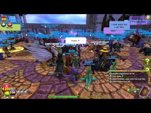 Wizard101: Blaze Lifehammer and MsCourtneyOlivia 's Meet and Greet Weekend!