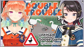 【SUBARUxKIARA】Untitled Goose Game HONK【日本語メイン】JAPANESE MAIN STREAM  #ホロ鳥 #holobirds