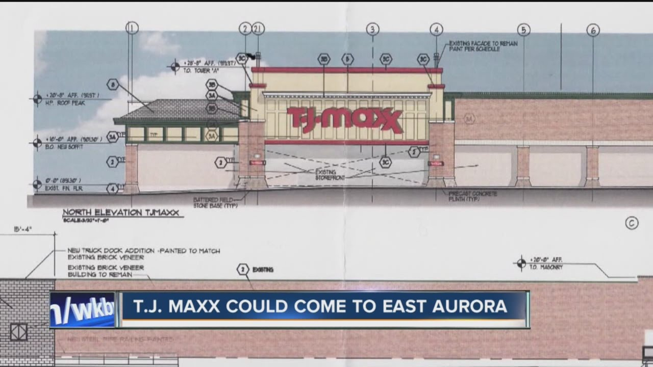 T J  Maxx could come to East Aurora