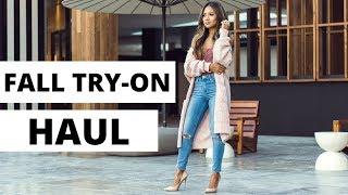 Fall Try-On Haul   Fashion Haul November 2017   Revolve, Asos, Forever 21