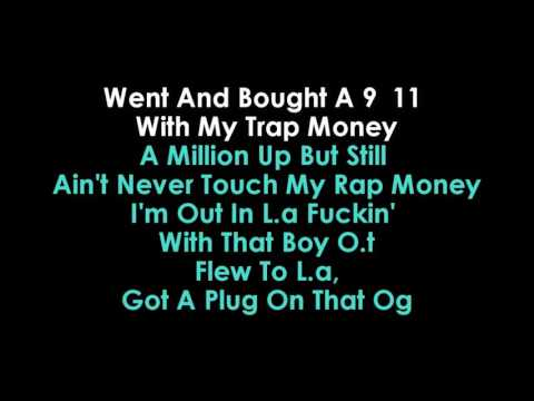 CUT IT KARAOKE O.T GENASIS FEAT YOUNG DOLPH | GOLDEN KARAOKE