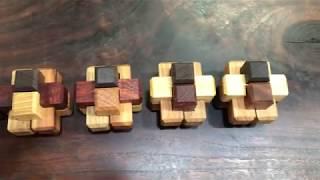 여섯 조각 전통퍼즐 Solid 6 Way