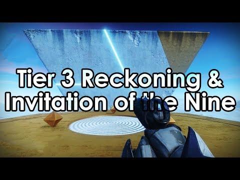 Destiny 2: Tier 3 Reckoning & Invitation of the Nine (Xur Bounty) thumbnail