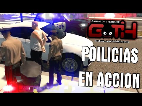 ARRESTANDO PELAOS CULIAOS ( Policias en Accion ) - Flashing Lights - GOTH