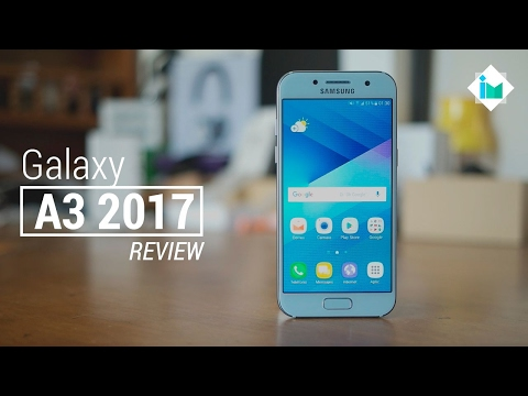 Samsung Galaxy A3 2017 - Review en español