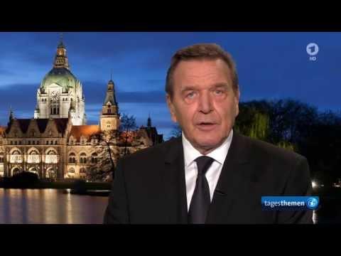 Gerhard Schröders Nachruf auf Helmut Schmidt