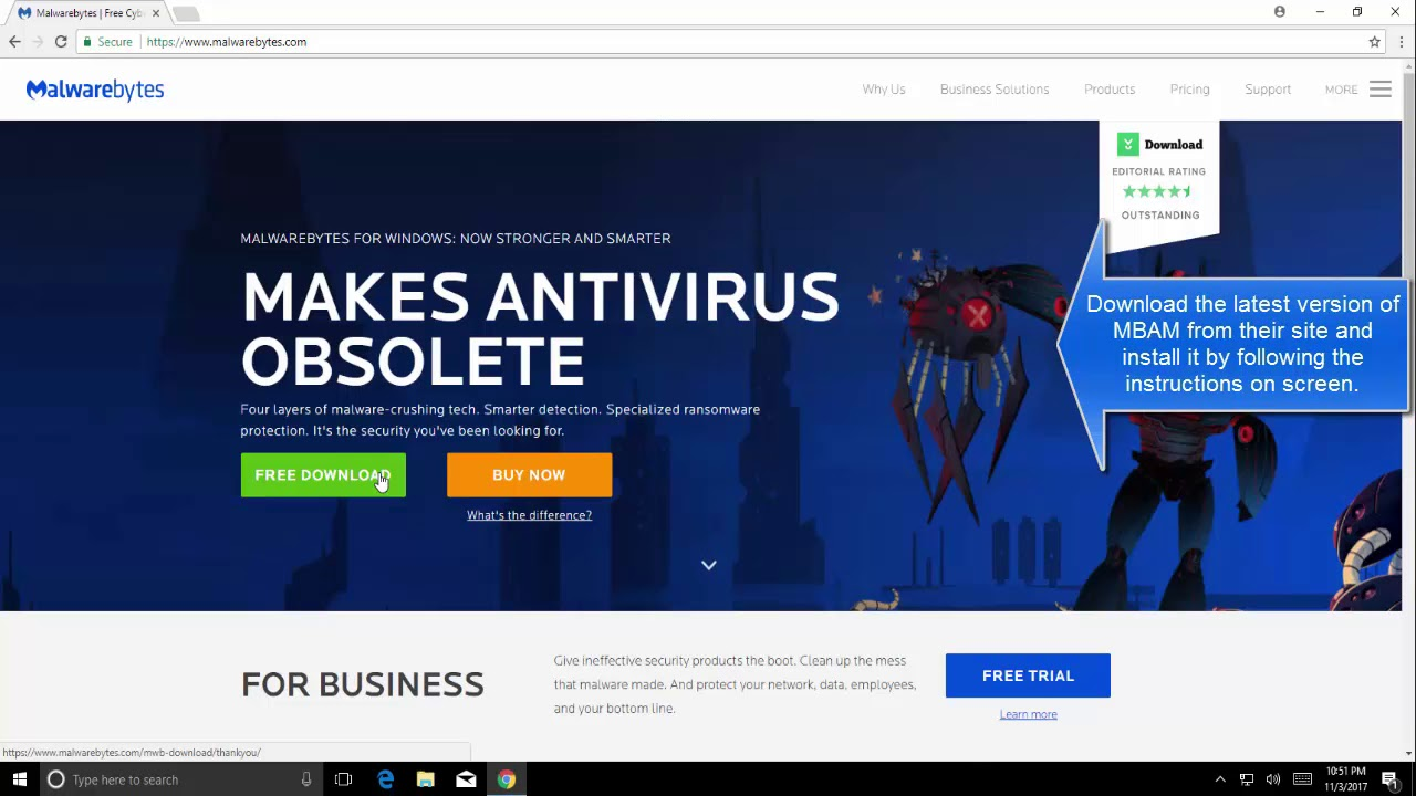 SOLVED: Malwarebytes unable to connect the service