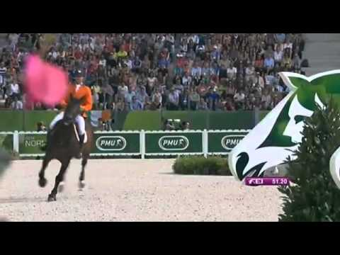 BUBALU Gold Medal at the Team Showjumping FEI World Equestrian Games 2014