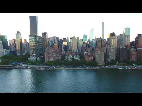 NYC East River Flight 2016-4K