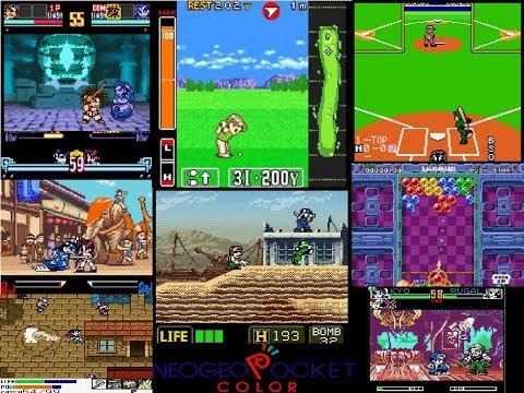 Neo Geo Pocket Color Gameplay SNK