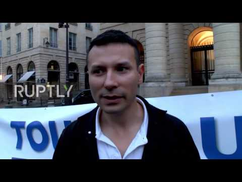 France: Protesters rally against Macron in wake of offshore account allegations