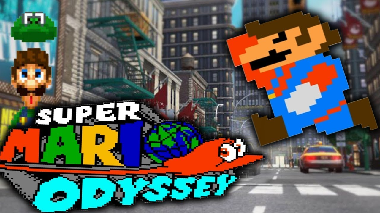 What If Super Mario Odyssey Was A Nes Game Super Mario Odyssey 2d Fan Game