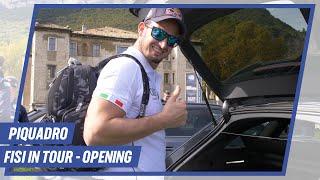 FISI in Tour: Una sorpresa da Piquadro per gli atleti