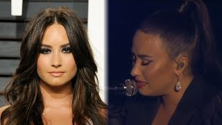 Baixar Demi Lovato BREAKS DOWN During Emotional First Performance of