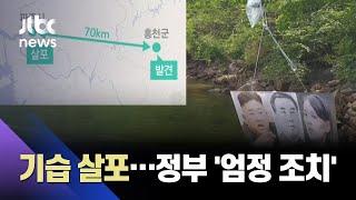 탈북민단체, 대북전단 기습 살포…북측도 '풍향' 살펴 / JTBC 아침&