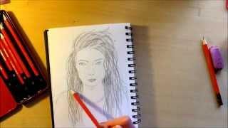 speed draw: Ella Yelich-O'Connor 👑👑Lorde