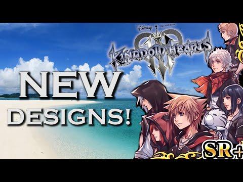 KINGDOM HEARTS 3 DESIGNS REVEALED FOR RIKU & KAIRI?