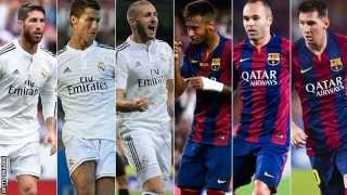 EL CLASSICO: Real Madrid vs  FC Barcelona, 25 Okt. 2014