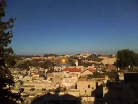 Jerusalem - Old city from Lutheran Guesthouse