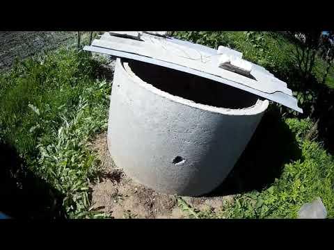 автономная канализация при высоких грунтовых водах.проверено