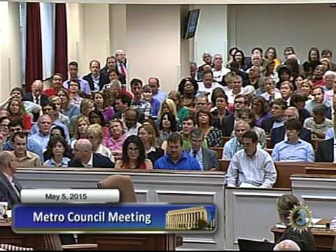 05/05/15 Metro Council Meeting