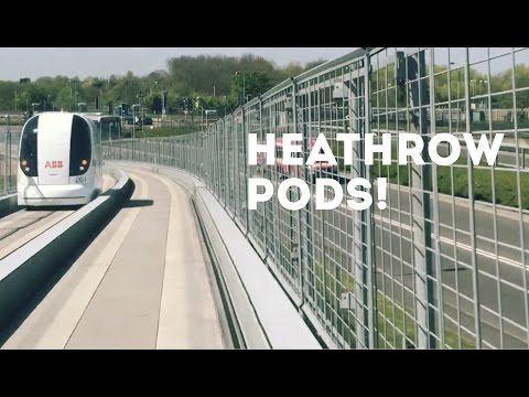 Heathrow Pods ULTra - end to end!