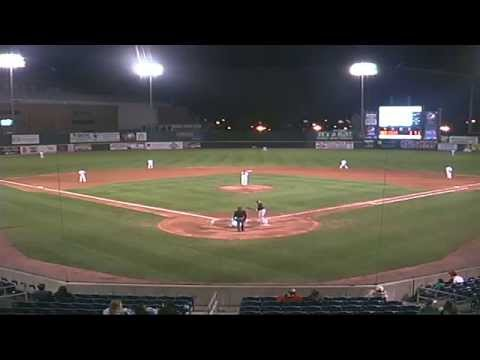 Game Three Of The Series Between The Bridgeport Bluefish And Lancaster Barnstormers