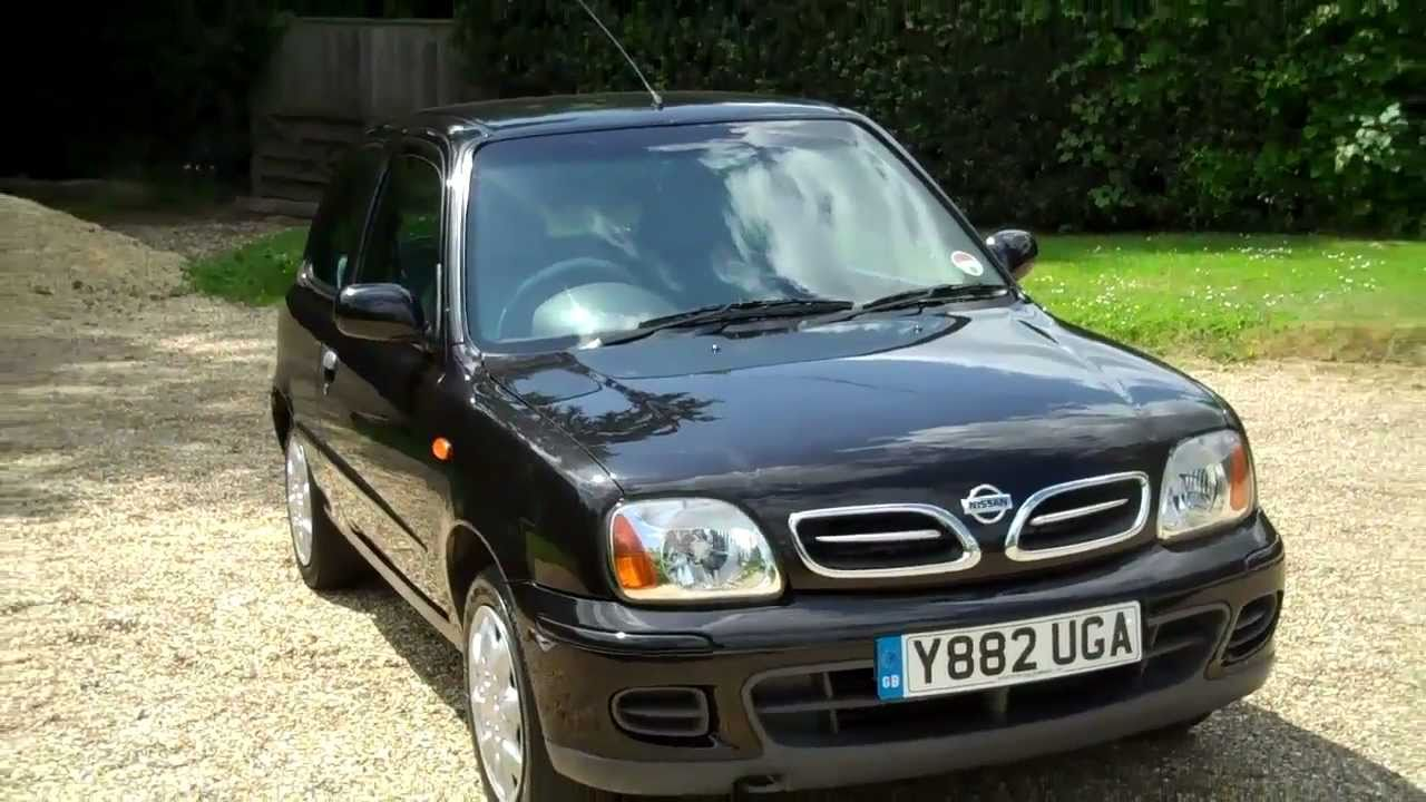 Nissan March Tuning >> 2001-Y Nissan Micra Active A/C 1.0cc 3dr Hatchback For Sale - YouTube