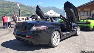Mercedes McLaren SLR with QuickSilver Exhaust Sound - Loudest SLR Ever?