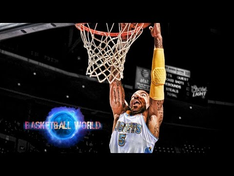J.R. Smith's tremendous dunk on Gary Neal! HD