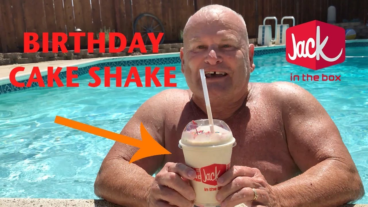 Jack In The Box Birthday Cake Shake Review! - YouTube