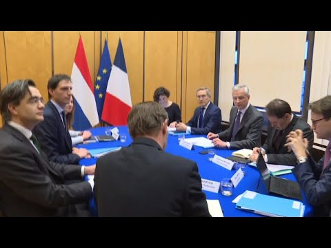 French, Dutch Finance Ministers Meet Amid Air France-KLM Turbulence