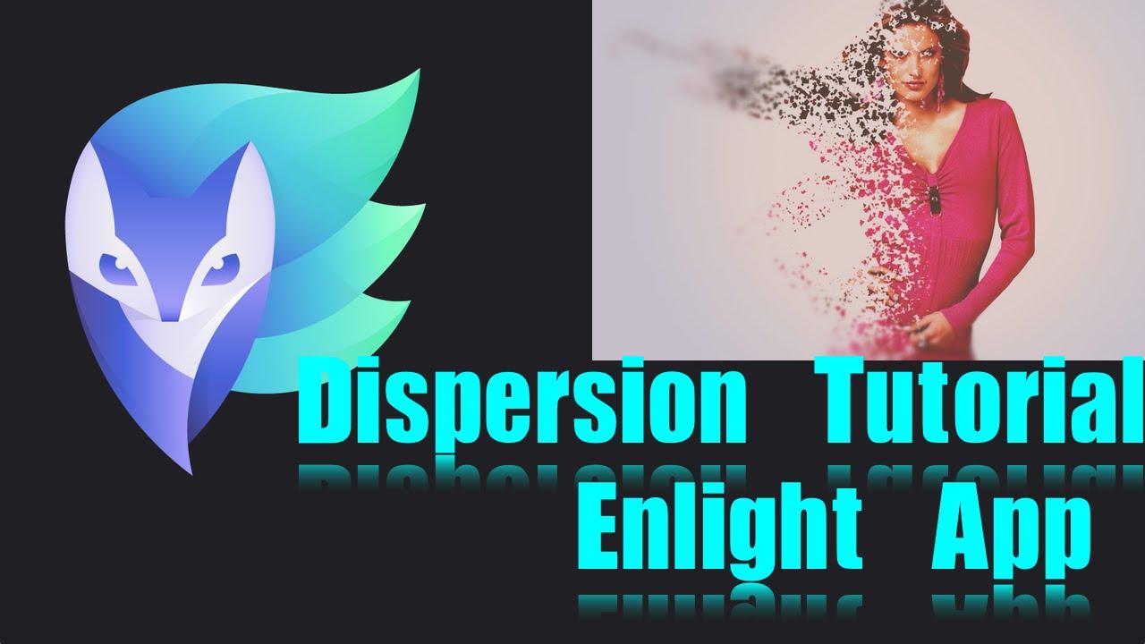 Enlight iPhone App | Dispersion Effect