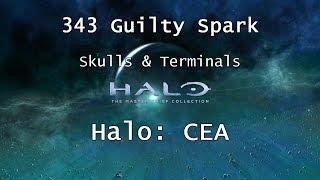 Halo: MCC [Halo: CEA] | Skulls & Terminals - Mission 6 - 343 Guilty Spark | Collectibles