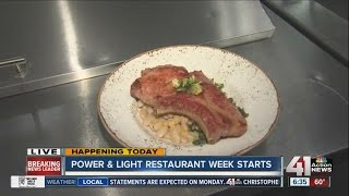 Summer restaurant week back in Kansas City Power and Light District