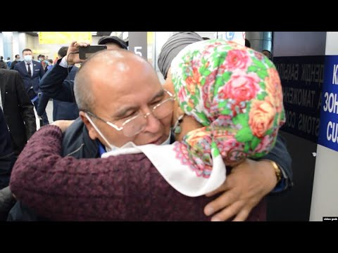 "Ethnic Kazakh ""Happy To Be Home"" After 17 Years Captivity In China"