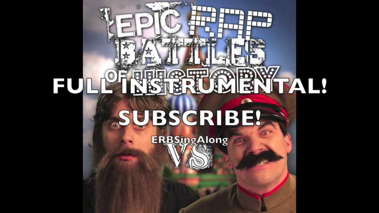 FULL INSTRUMENTAL - Rasputin vs Stalin (Epic Rap Battles of History)