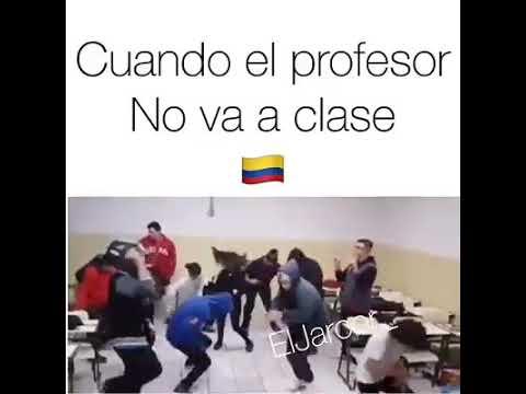 Cuando estas sin profesor