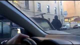 Стрельба по виновнику ДТП в Санкт-Петербурге Full )
