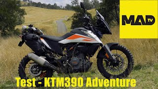 Test/Review - KTM390 Adventure